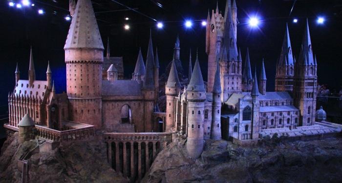 image of Hogwarts model