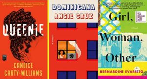 book cover images for sample of 2020 Women's Prize longlist