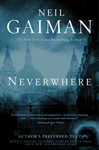 cover image of Neverwhere by Neil Gaiman