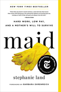 cover image of Maid by Stephanie Land